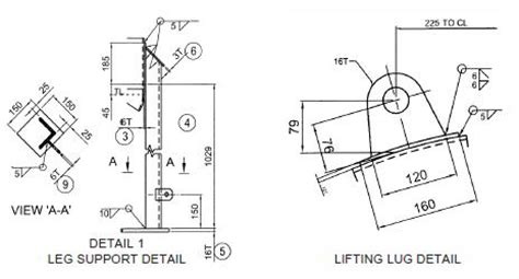design criteria for lifting lugs australian standards for design of lifting lug hp