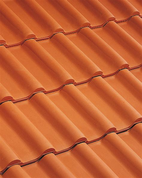 Tuile H2 by Dach 243 Wka Ceramiczna H2 Huguenot Imerys Toiture