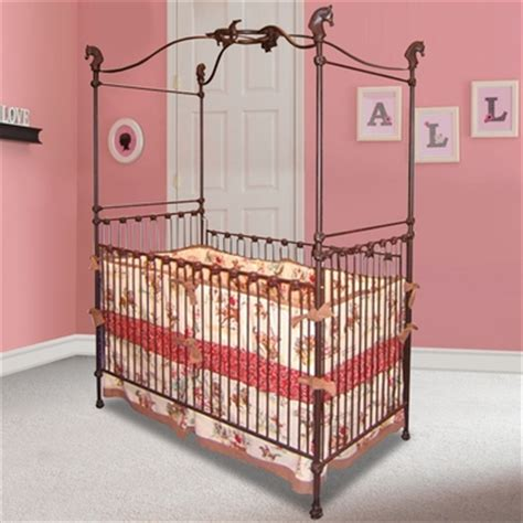Babies R Us Canopy Crib by Canopy Iron Crib 6450 By Corsican Baby Cribs At