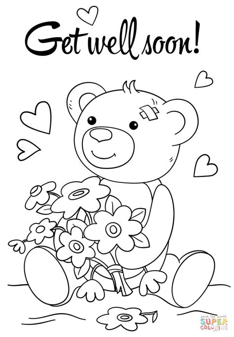 Get Well Card Template For Kids Rescuedesk Me Get Well Card Template