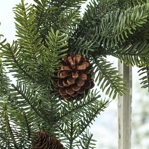 artificial pine wreath wreaths floral supplies craft