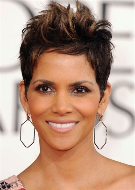 Razor Cut Hairstyles That Are In Fashion This Season | halle berry nuff said top 100 hairstyles 2014 for black