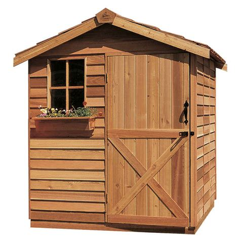6x6 Shed Price Cedarshed Gardener 6x6 Shed G66 Free Shipping