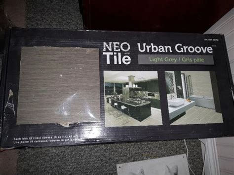neo tile light grey neo tile urban groove light grey ceramic tile west shore