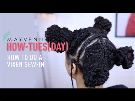 how to do a vixen sew in when you have no edges curly vixen sew in www pixshark com images galleries