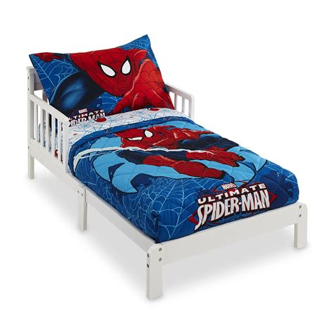 marvel toddler bedding marvel 4 piece spider man toddler boy s bedding set baby baby bedding bedding