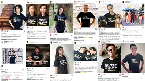 interactive ad singapore kindness movement influencers