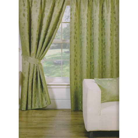leaf design curtains trieste leaf pattern fully lined pencil pleat curtains