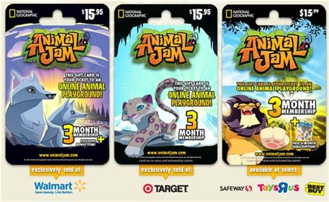 Www Animaljam Com Gift Card - animal jam 10 million players global expansion and more online games list