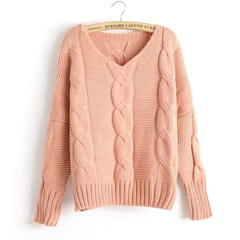 knitted sweaters new arrival twist bat sleeve knitted sweater on luulla