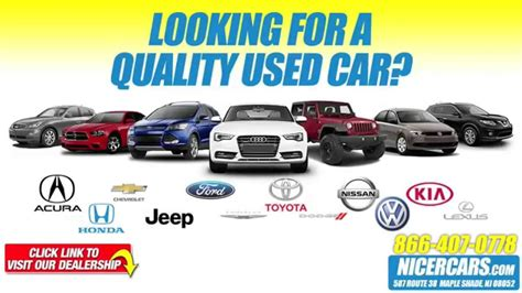 used car sale nicercars used car sales event youtube