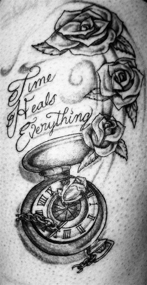 tattoo heal time best 25 time heals ideas on hourglass
