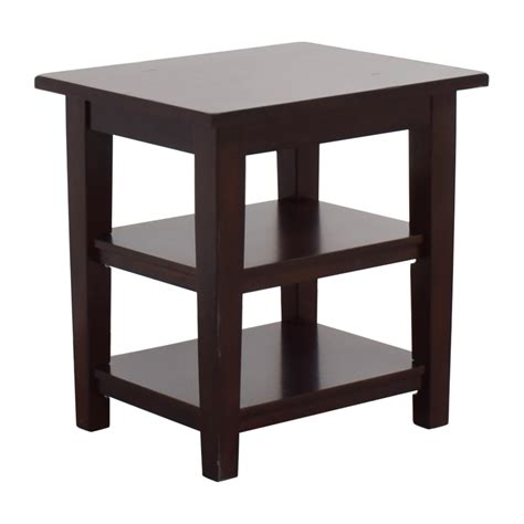 pier 1 end tables 86 off pier 1 pier 1 wooden end table tables