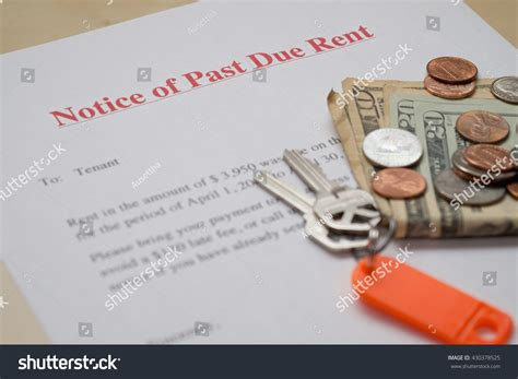 rent letter mortgage past due notice template strong pictures late