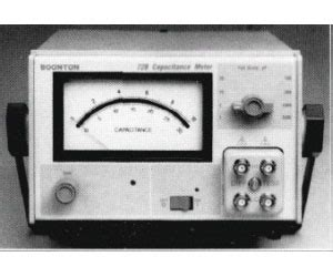 capacitance meter boonton 72c boonton capacitance meters brl test