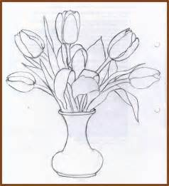 how to draw a flower vase pencil drawing how to draw