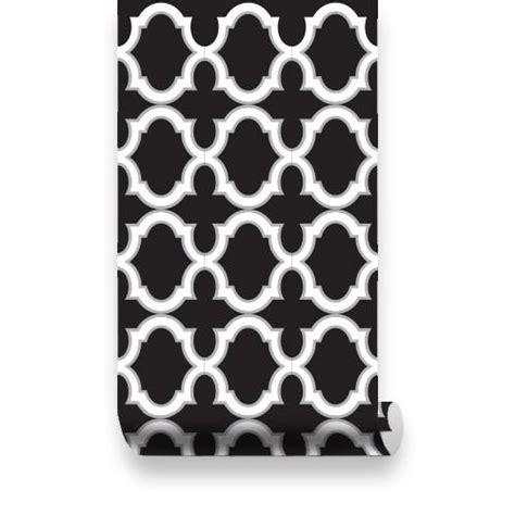 black and white moroccan wallpaper moroccan trellis pattern wallpaper black white
