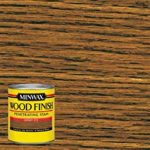 Golden Oak Kitchen Cabinets Minwax 1 Qt Wood Finish Honey Oil Based Interior Stain