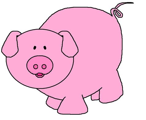 clipart pig pig clip art black and white clipart panda free