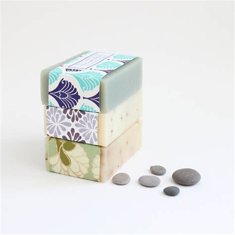 Handmade Soap Gift - handmade soap soap set of 3 gift idea cold process