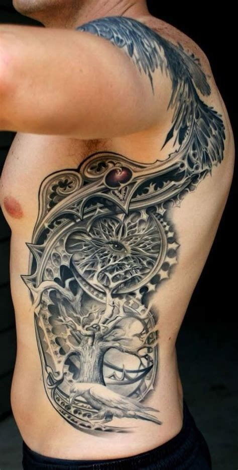 side tattoo for men best 25 rib tattoos for guys ideas on rib