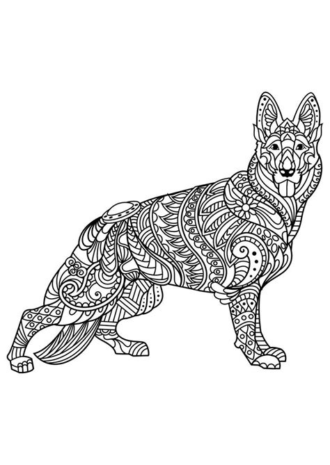 coloring pages of dogs for adults 627 best images about colouring cats dogs