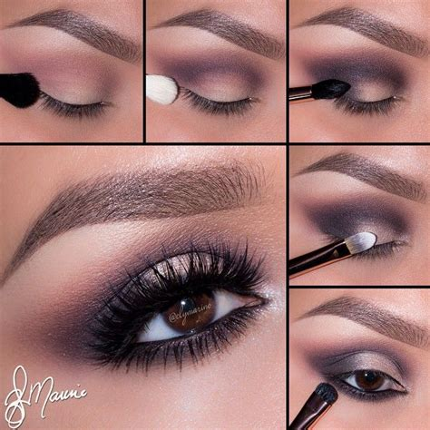tutorial eyeshadow step by step step by step eye makeup pics my collection