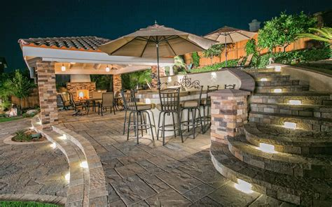 Landscape Architect Island Outdoor Living Spaces With Bbq Island Gallery Of San Diego
