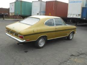 1969 Opel Kadett Rallye 1969 Opel Kadett B Rallye German Cars For Sale