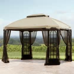 Kmart Outdoor Canopy by Essential Garden Terrace Gazebo 12ft X 10ft Outdoor
