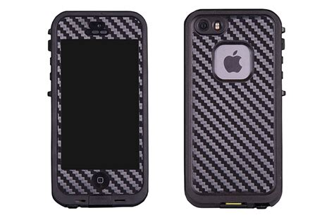 Iphone 5 5s Luxury Carbon Fiber Skin Cas Kode Df1988 2 apple iphone 5 5s skin decal cover for lifeproof premiums