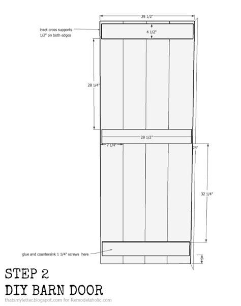 Remodelaholic Diy Sliding Barn Door Inexpensive Hardware Barn Door Sizes