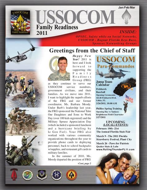Frg Newsletter Army Frg Newsletter Template