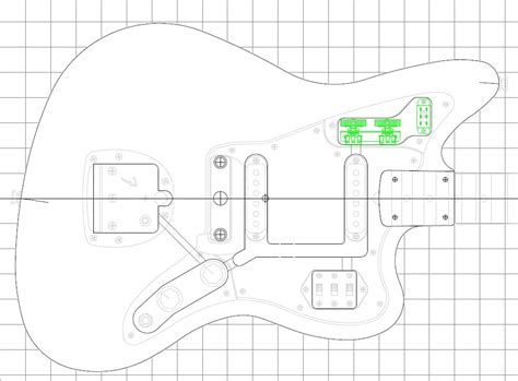 fender jazzmaster body template gallery templates design