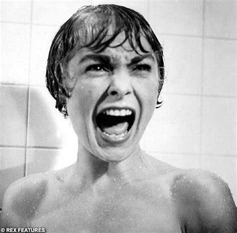 scream bathroom scene psycho s spine chilling shower scene voted most nail