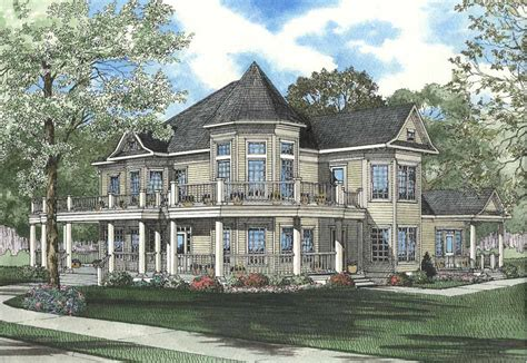 luxury houseplans home design main street