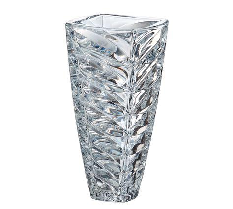 vasi cristallo boemia vaso facet in cristallo 30 5 cm vasi in cristallo di