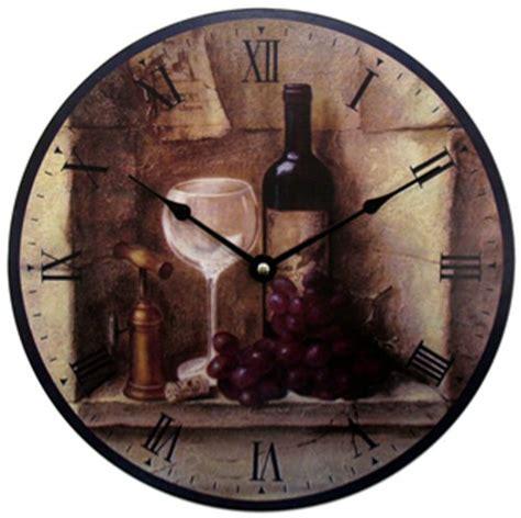 kitchen clocks wine theme kitchen wall clocks september 2012