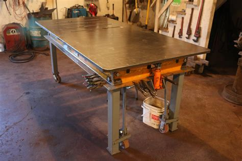 Buy A Bench Press Welding Table Build With Custom Lifting Mechanism Mig