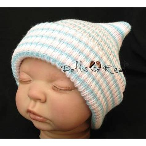knitted newborn hats for hospitals newborn hospital style striped knit hat hats bonnets