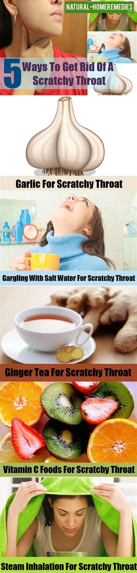 5 ways to get rid of a scratchy throat home remedies for