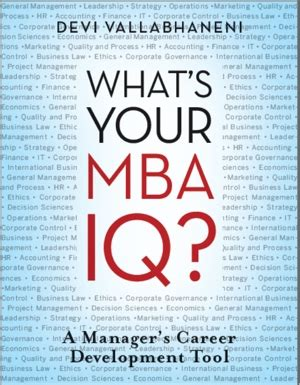Whats Before Mba by What S Your Mba Iq