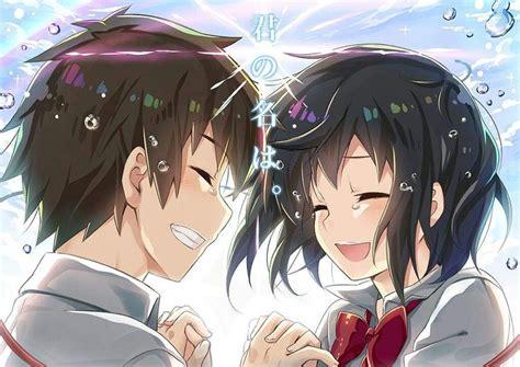 anime  manga cual es tu nombre animasi fanart