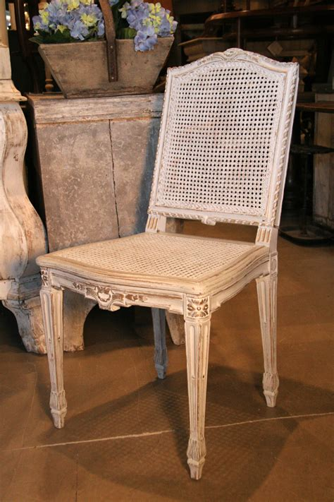 Antique French Chairs by Set Of 6 French Vintage Louis Xvi Cane Chairs Sold