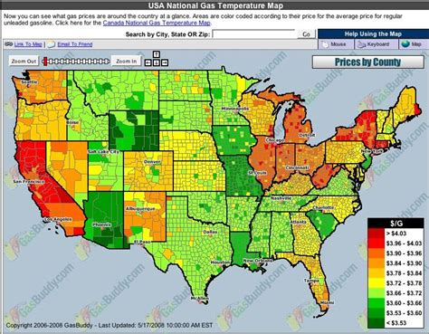 map of us gas prices tywkiwdbi quot wiki widbee quot map of u s gasoline prices