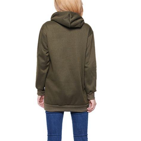 Jaket Sweater Wanita Lengan Panjang Jaket Srf Black qiaosha zanzea musim gugur musim 2016 zanzea fashion wanita berkerudung panjang lengan baju