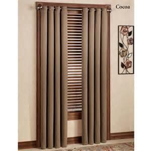 Curtain Panel Faceted Decorative Rod Set Weathermate Grommet Curtain » Home Design
