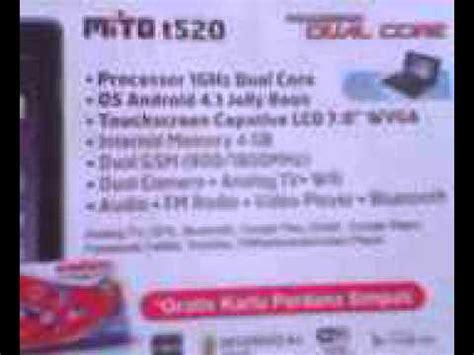 Tablet Bekas Mito T520 tablet mito t520 tv wifi dual