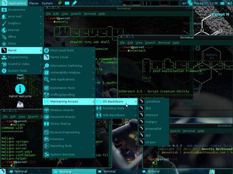 imagenes virtuales de kali linux parrot os una distribuci 243 n linux muy parecida a kali linux