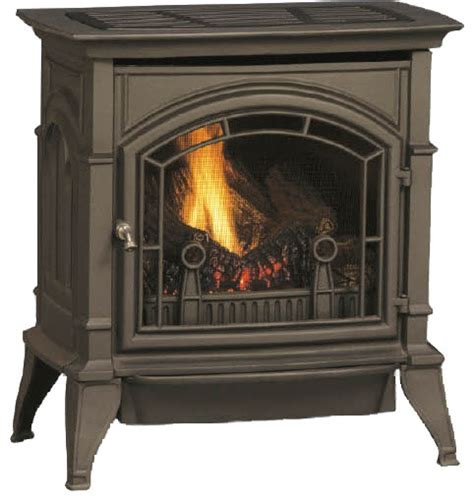 Free Standing Vented Gas Fireplace by Majestic Csvf30snvg Csvf Series Vent Free Gas Stove